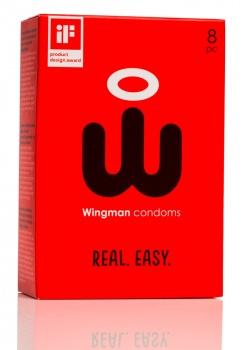 413496 Kondómy Wingman 8 ks