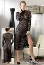 2713578 1020 Čipkované šaty s nohavičkami