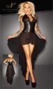 2715031 1020 Dĺhé šaty Noir Handmade