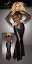 2714930 1020 Dlhé šaty s čipkou Noir Handmade