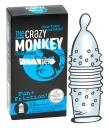 413143 Kondómy The Crazy Monkey Fun + Friction