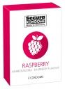 416126 Kondómy Secura Raspberry 3 ks